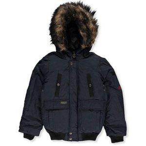 J. Whistler Boys Insulated Black Jacket Size 10/12